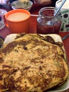 Pancakes with Homemade Jam