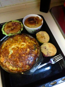 Quiche and Muffins