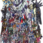 Alot of Gundams